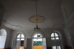 Część zabytkowa pałacu